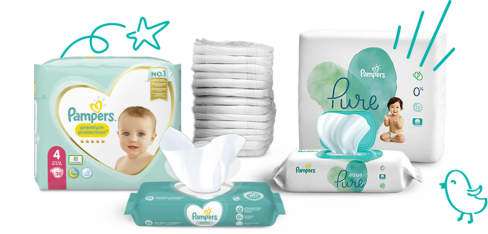 Pampers-Windeln