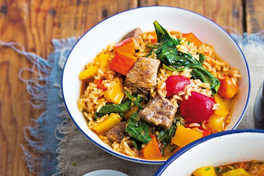 Eintöpfe Reisfleisch