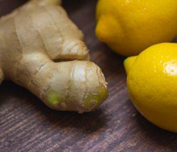 Ingwer mit Zitrone