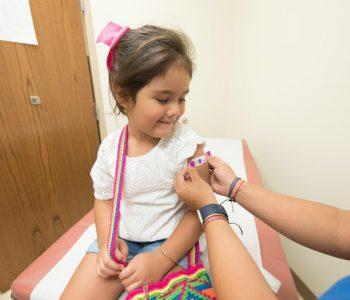 Impfen bei Kindern