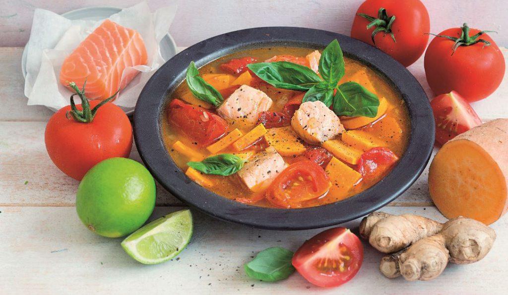 Tomaten-Fischsuppe