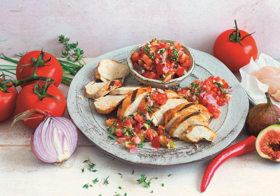 Tomaten-Hühnchen