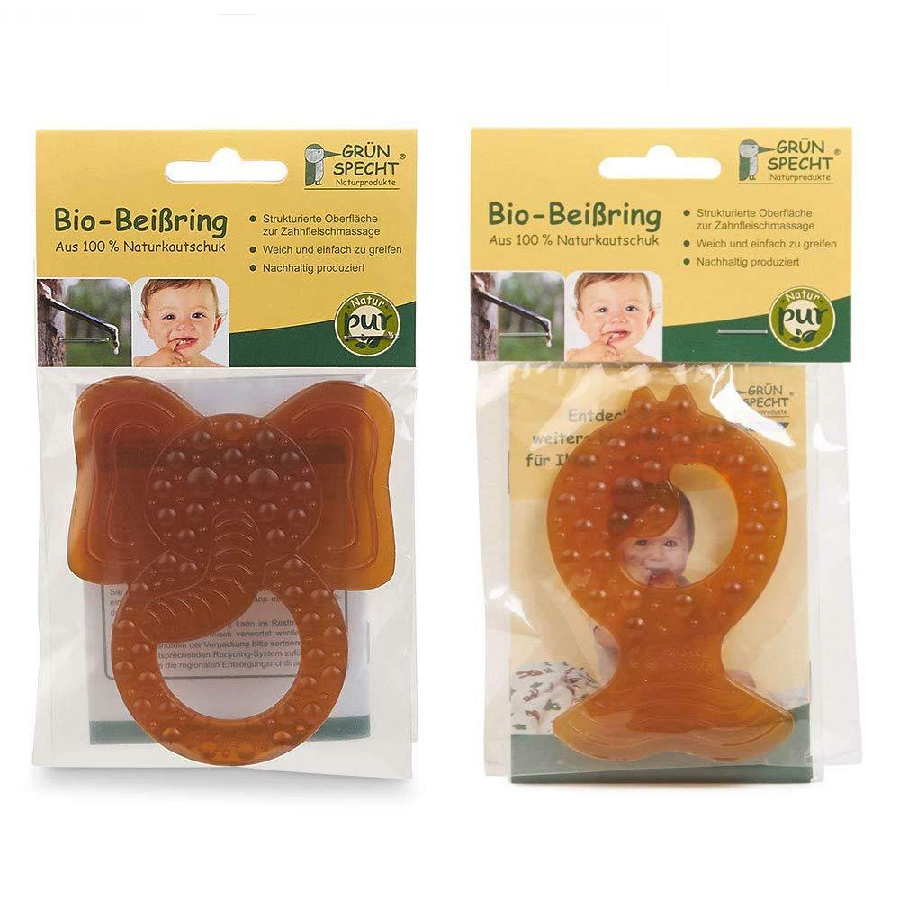 Wenn Babys zahnen: Grünspecht Beißringe