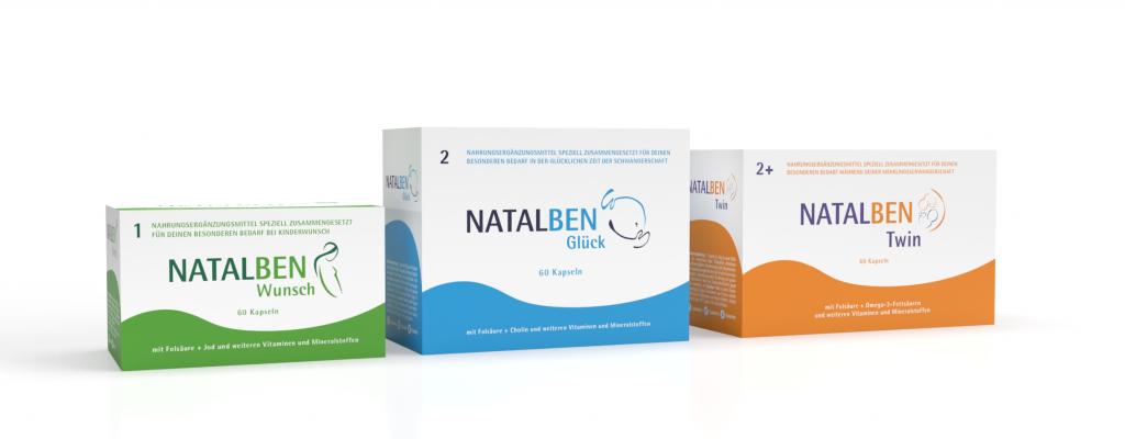 Folsäuremangel: 3 Pillenpackungen