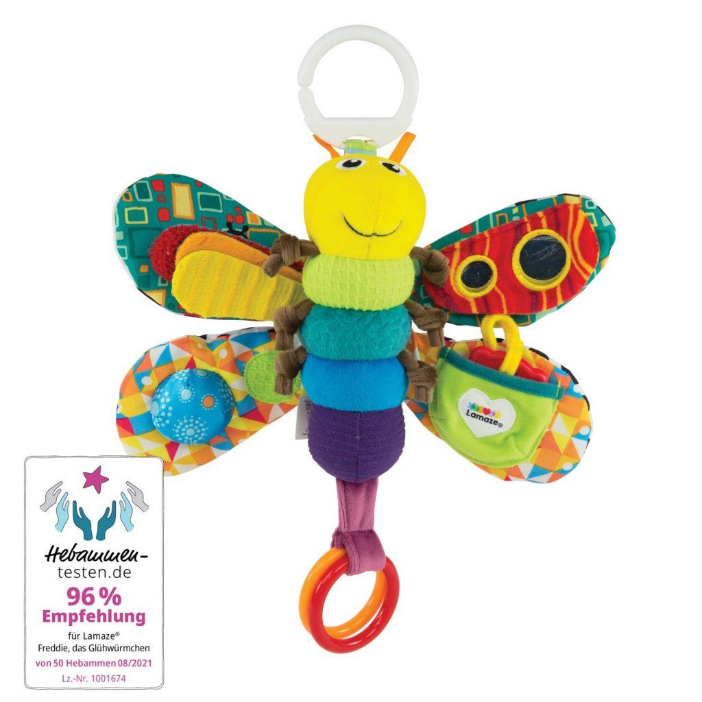 babyspielzeug: Greifling Glühwürmchen