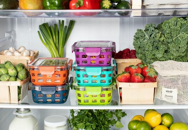 Kinder vegetarisch ernähren: Kühlschrankinhalt Gemüse